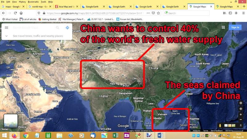 Tibet China's claim