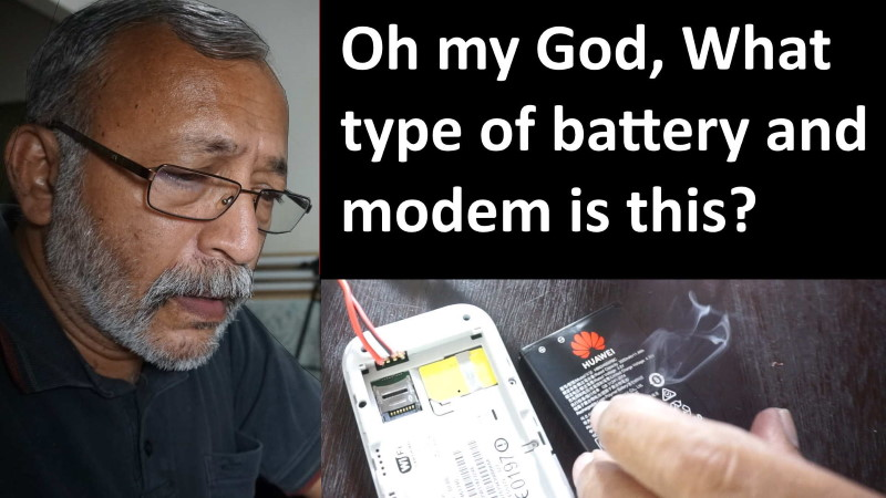 Lithium ion battery and portable huawei modem