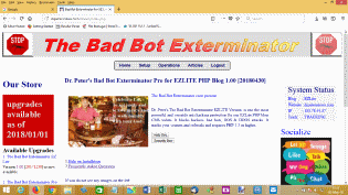badbot exterminator uses ip address to track hackers