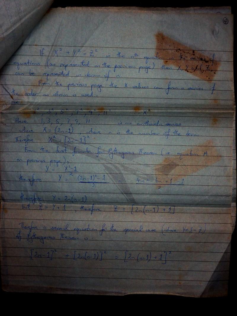 Pythagora Theorem page 5