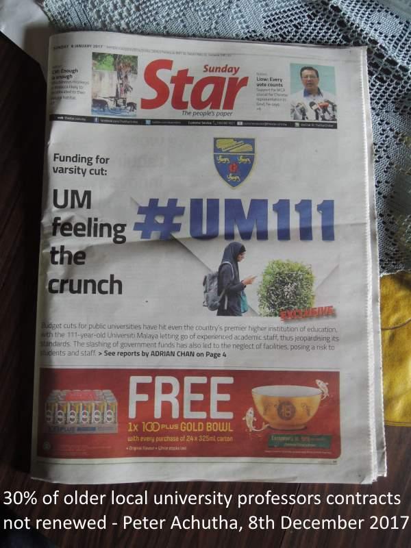 university funding cuts